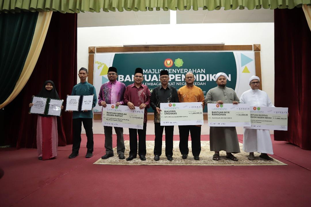 Lembaga Zakat Negeri Kedah Darul Amanlznk Memperuntukkan Rm 6 13
